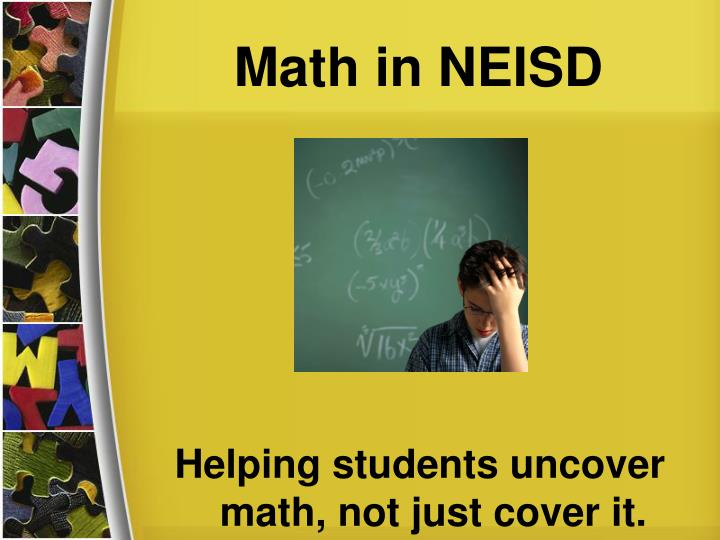 Math in neisd