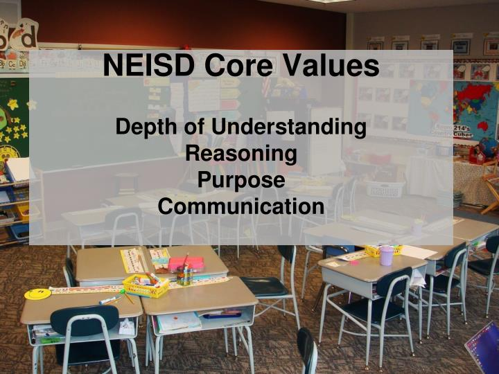 NEISD Core Values
