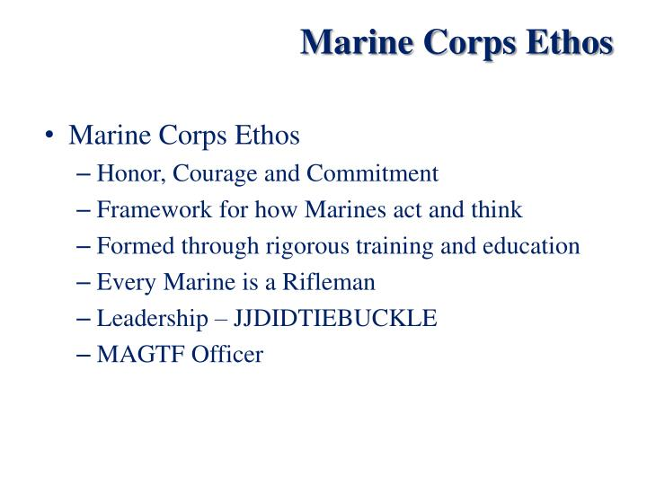 PPT - United States Marine Corps PowerPoint Presentation ...