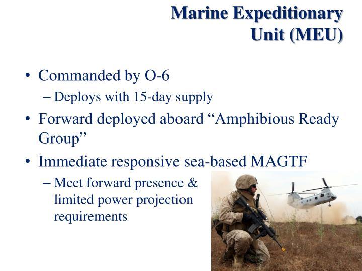 Marine Expeditionary