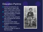 education partime1