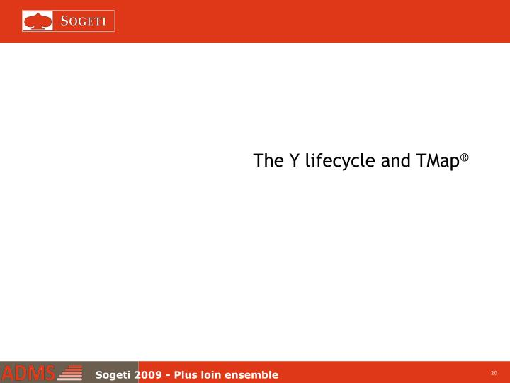 The Y lifecycle and TMap