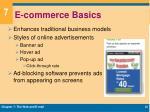 e commerce basics1