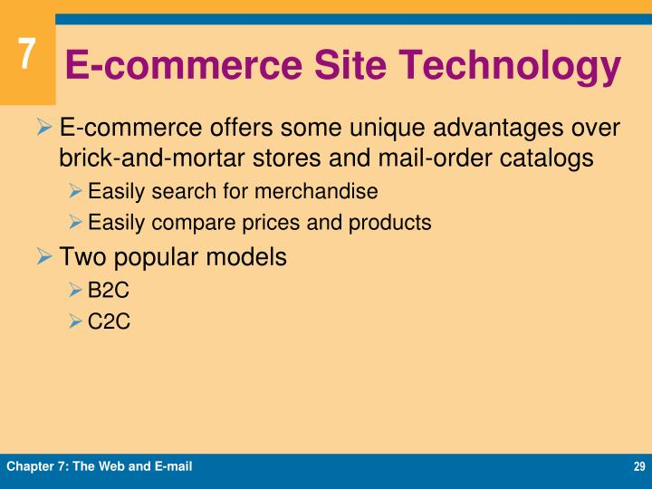 E-commerce Site Technology