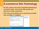 e commerce site technology3