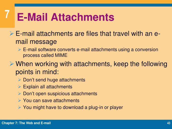 E-Mail Attachments