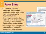 fake sites