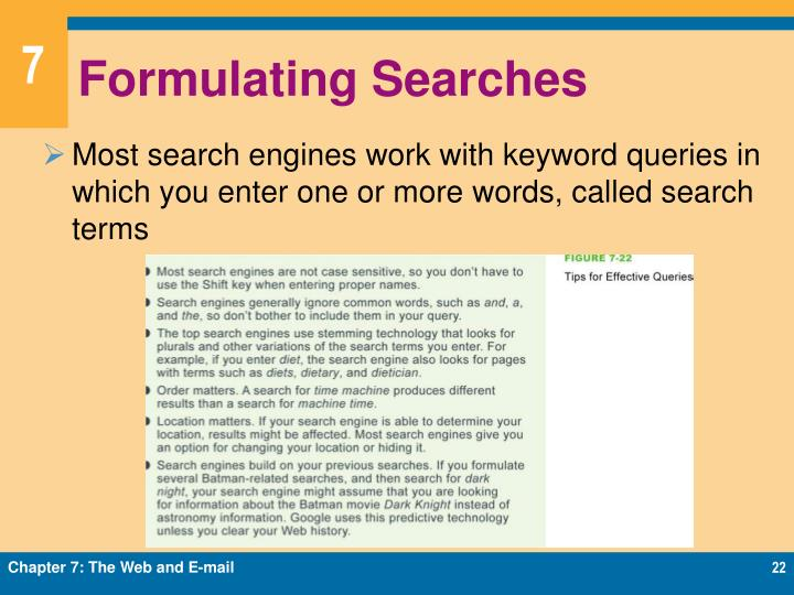 Formulating Searches