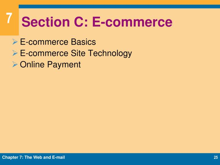 Section C: E-commerce
