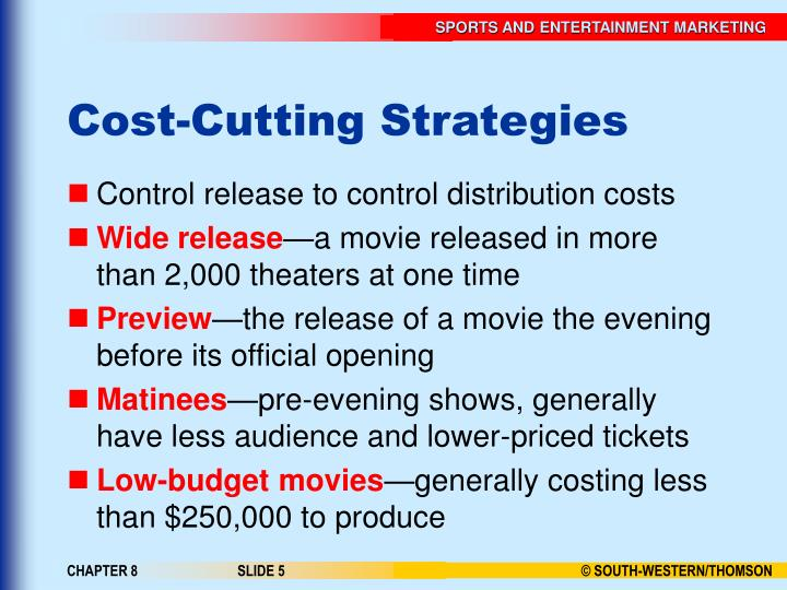 Cost-Cutting Strategies