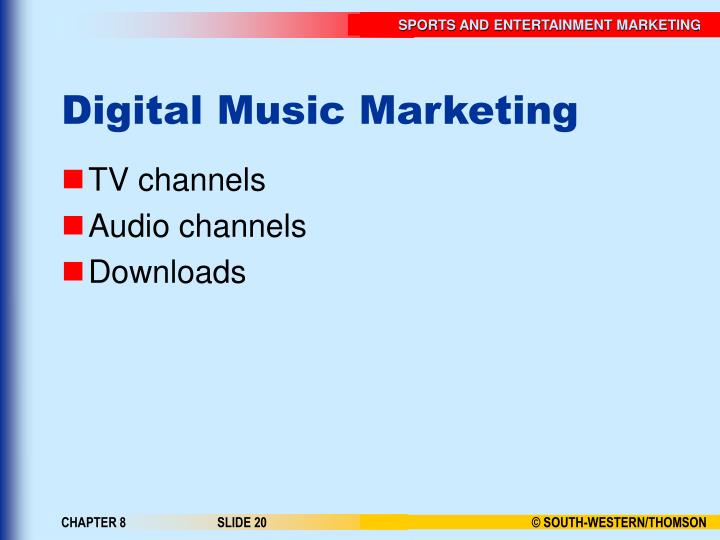 Digital Music Marketing