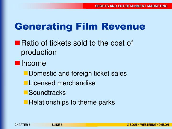 Generating Film Revenue