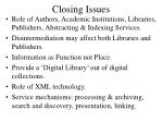 closing issues