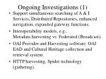 ongoing investigations 1