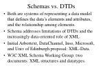 schemas vs dtds