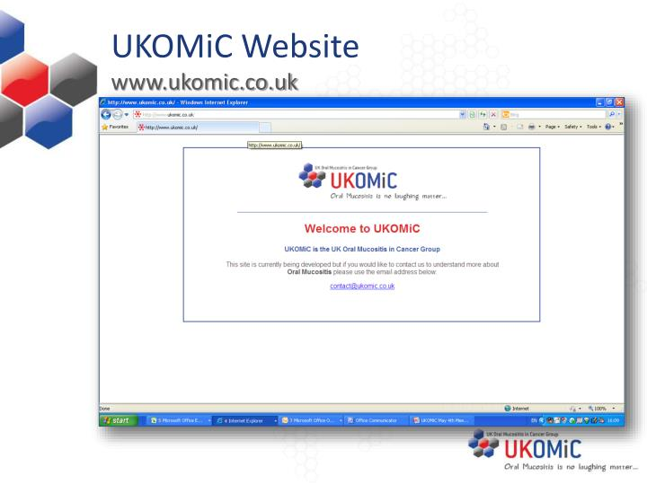 UKOMiC Website