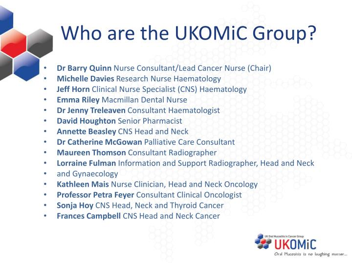 Who are the ukomic group