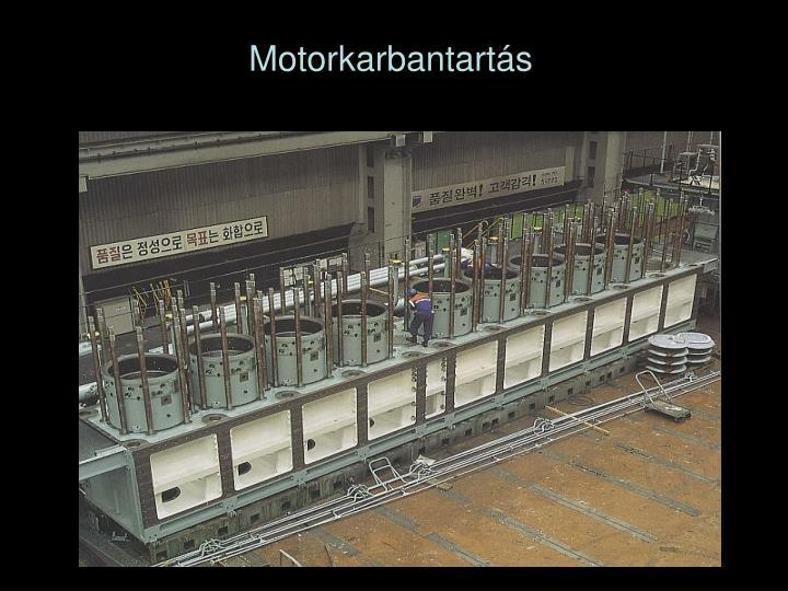 Motorkarbantartás