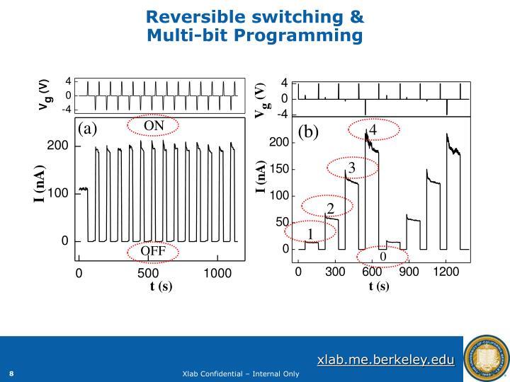 Reversible switching &