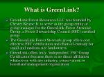 what is greenlink