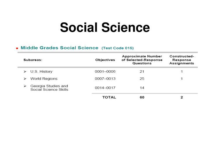 Gace social studies essay