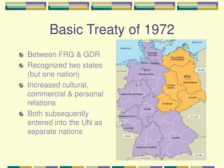 Basic Treaty of 1972