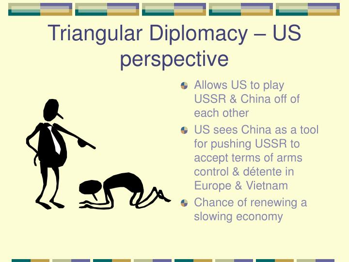 Triangular Diplomacy – US perspective