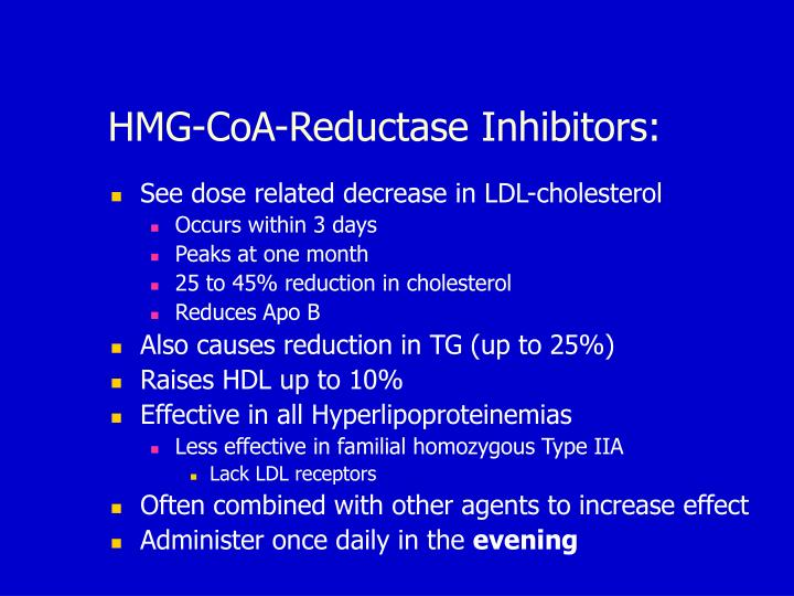 HMG-CoA-Reductase Inhibitors: