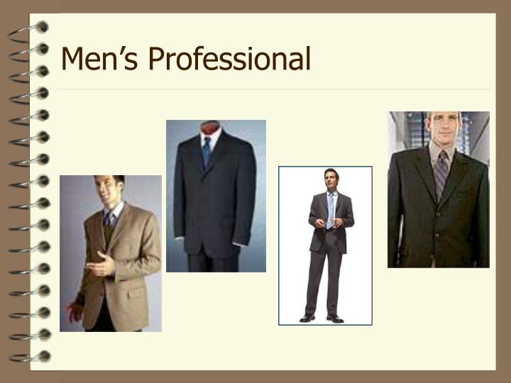 Men's Professional