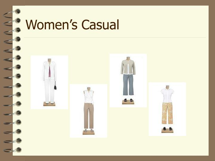Women's Casual