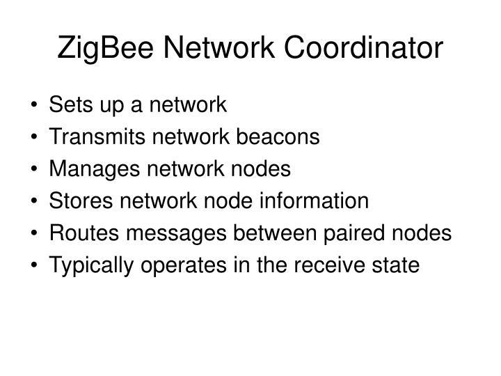 ZigBee Network Coordinator