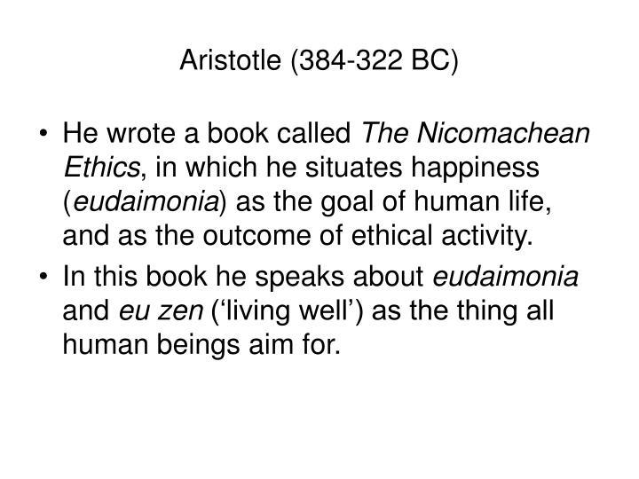 Aristotle (384-322 BC)