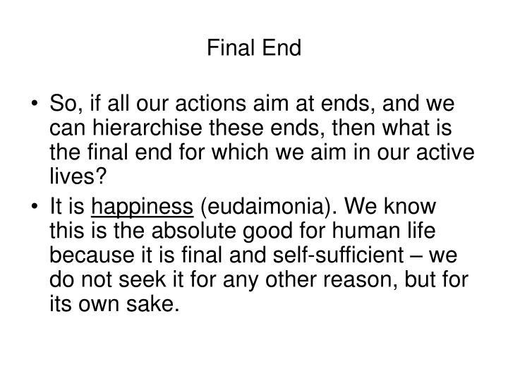 Final End