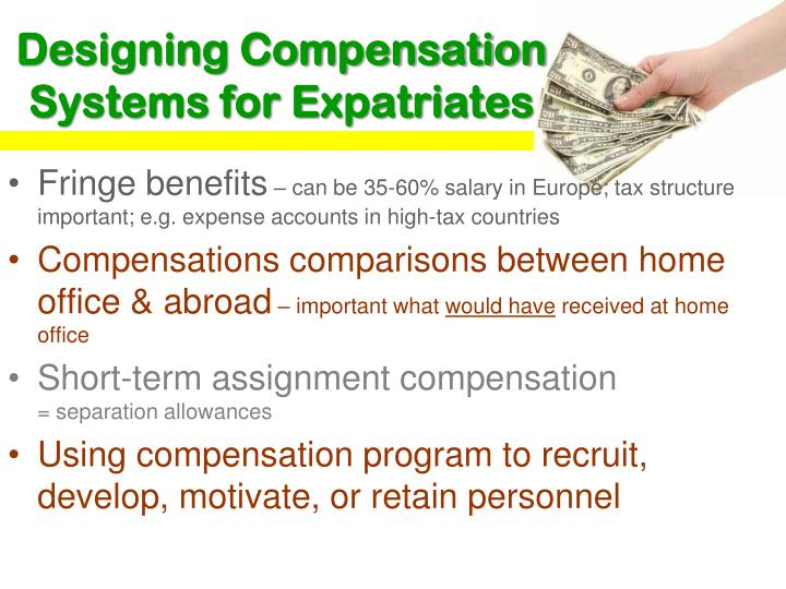 Designing Compensation Systems for Expatriates