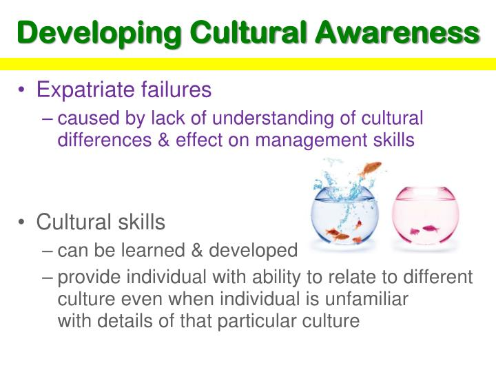 Developing Cultural Awareness
