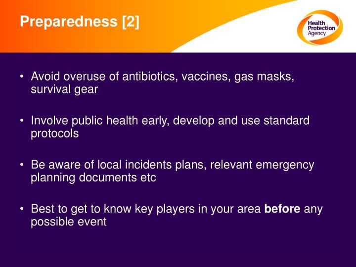Preparedness [2]