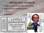 impeaching johnson
