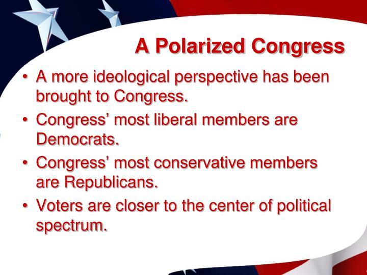 A Polarized Congress
