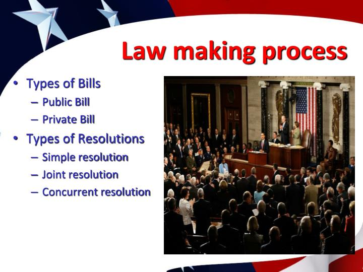 Law making process
