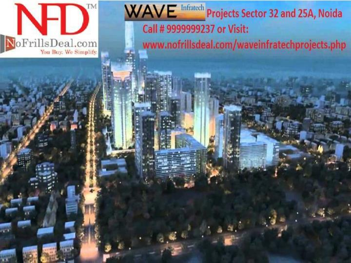 Experience modern lifestyle with wave infratech projects 99 1759473