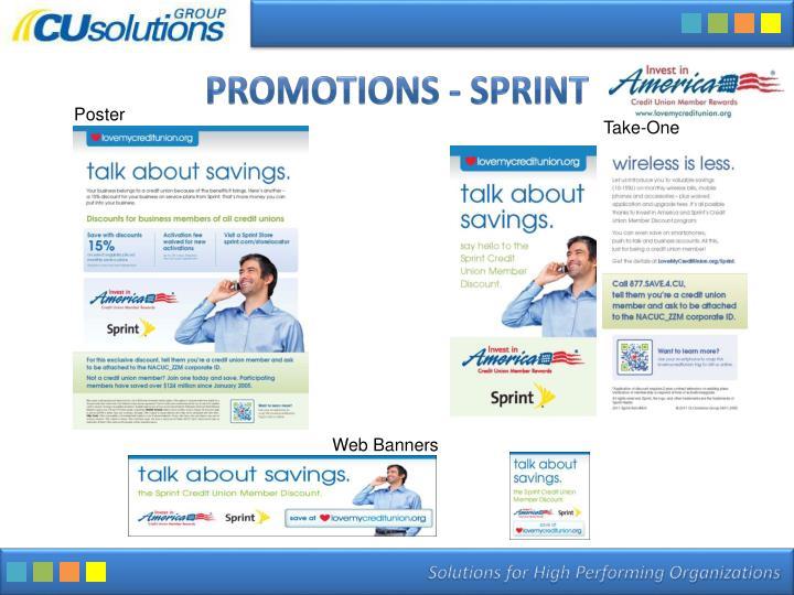 Promotions - Sprint