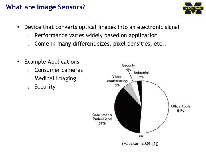 What are image sensors