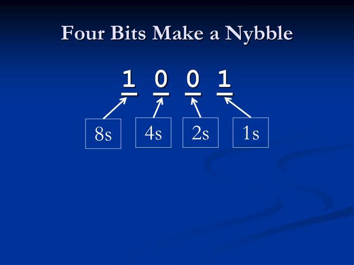 Four Bits Make a
