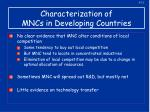 characterization of mncs in developing countries2
