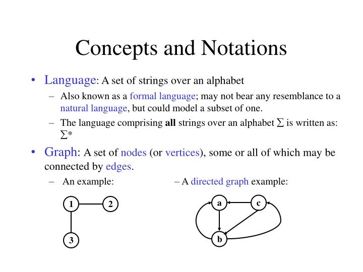 Concepts and Notations
