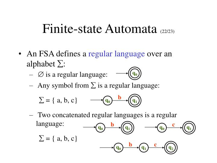 Finite-state Automata