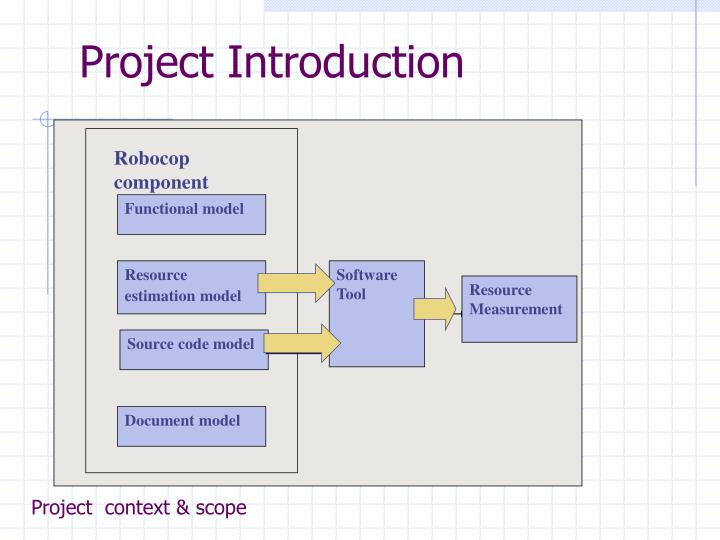 Project  context & scope