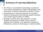 summary of learning objectives2