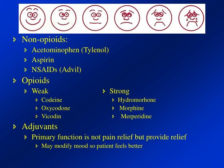 Non-opioids: