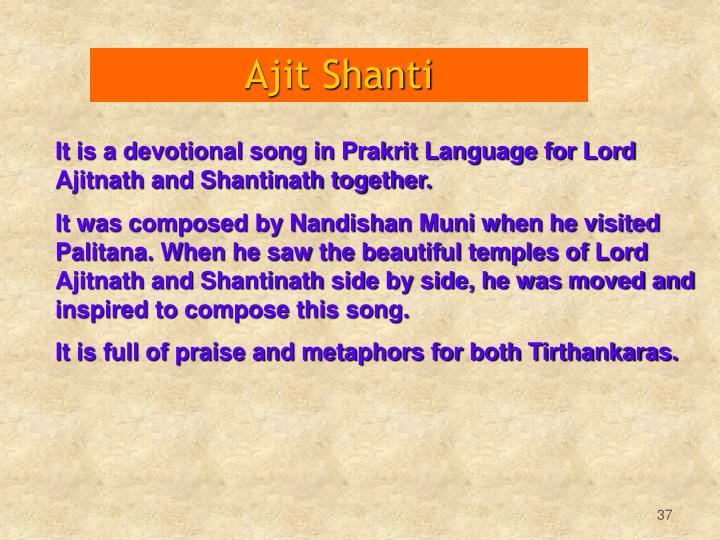 Ajit Shanti